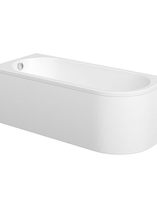 J Shaped  Bath Panel Only
