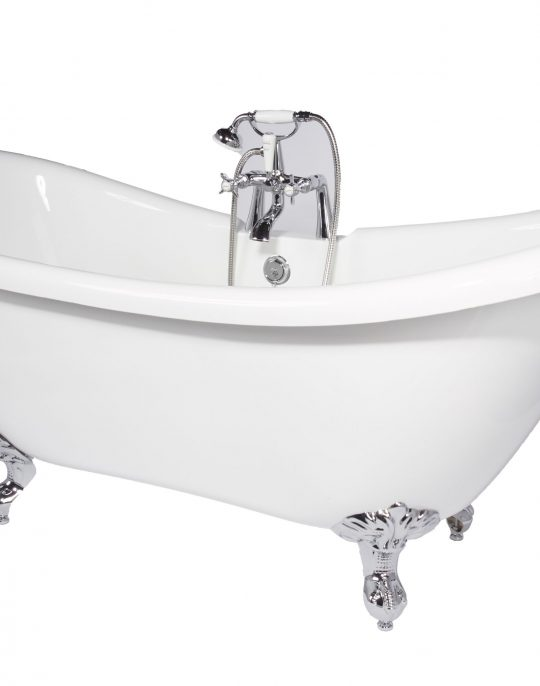 Double Slipper Traditional Style  Freestanding Bath