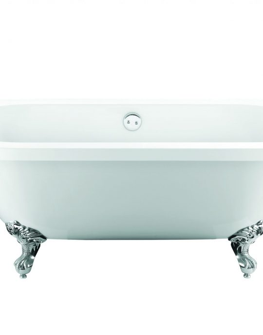 Back to Wall Bath Traditional Style  Freestanding Bath
