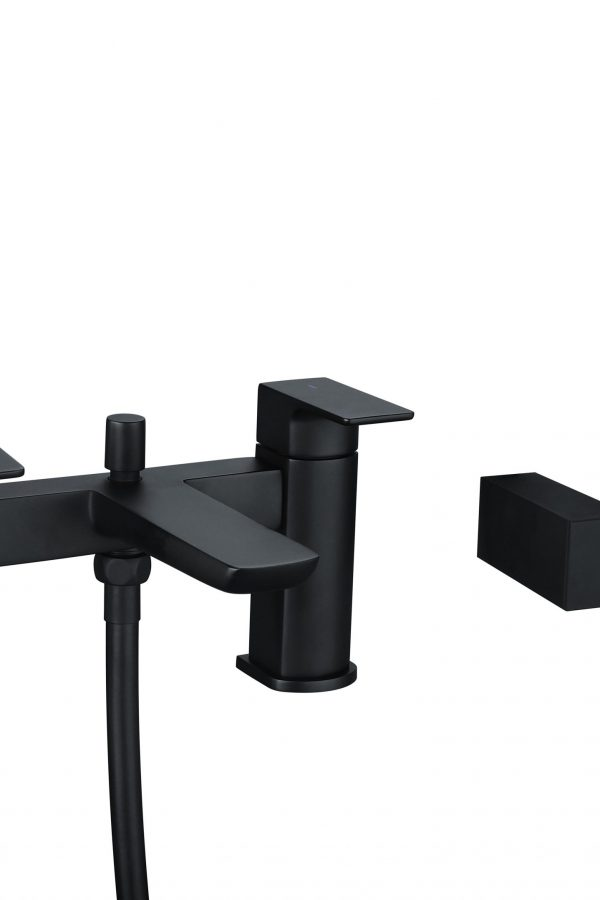 Sorento Black Bath Shower Mixer