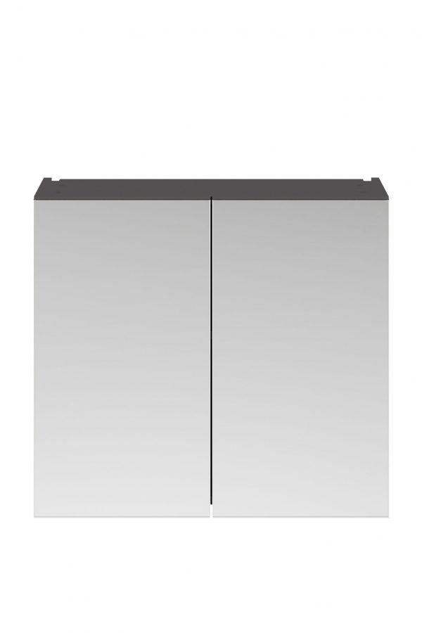 Athens 800mm Mirror – Dark Grey Gloss