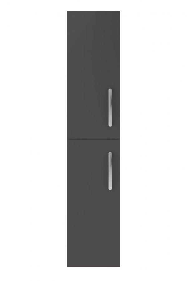 Athens Tall Boy – Dark Grey Gloss