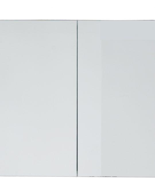 800mm Mirrored Cabinet – Gloss Mocha