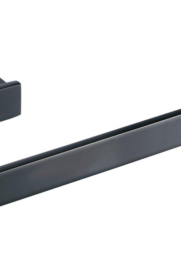 Sorento Black Towel Ring
