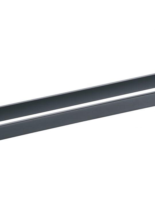 Sorento Black Double Towel Bar