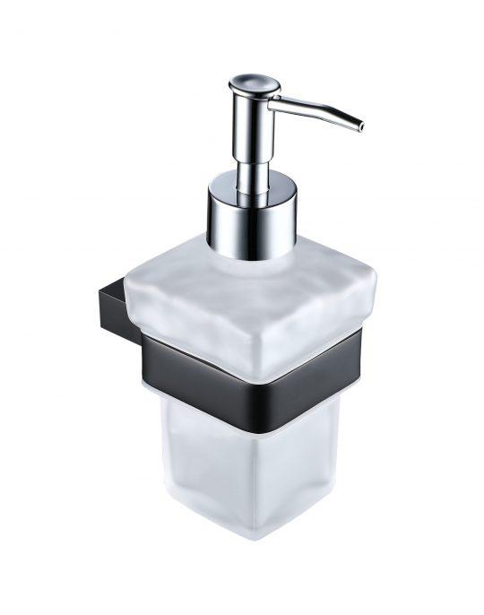 Sorento Black Soap Dispenser & Holder