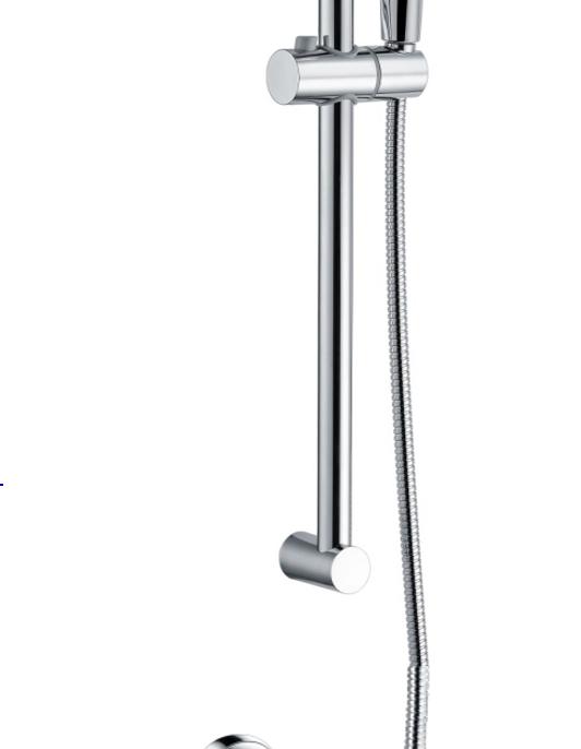 Bar valve with slide rail kit