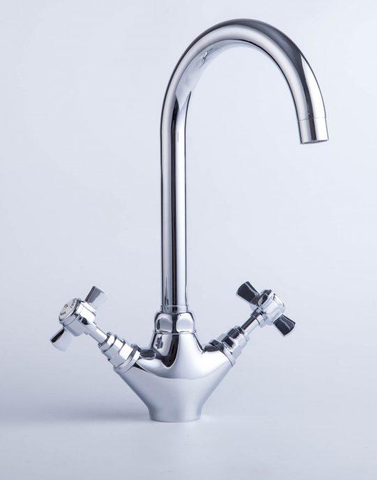 Traditional Mono Sink Mixer – Chrome