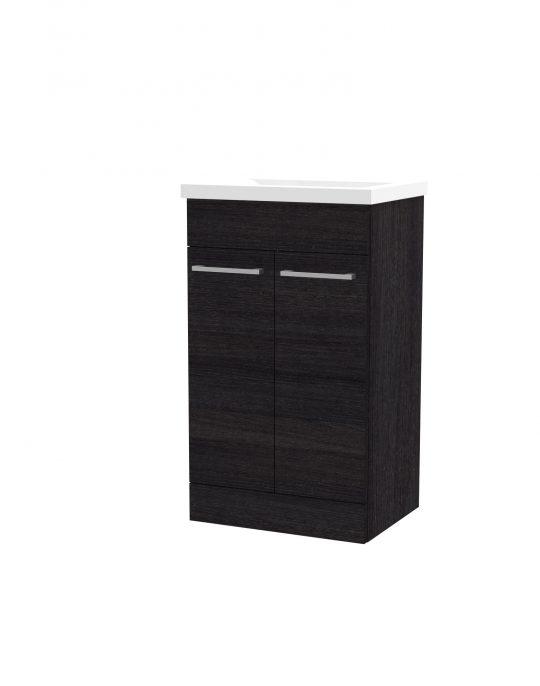 500mm Floor Standing Cabinet Only – Black
