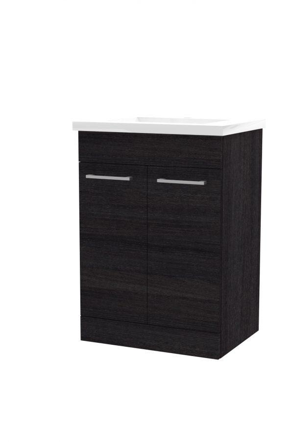 600mm Floor Standing Cabinet Only – Black