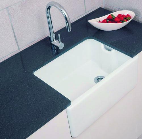 Belfast Sink 24X18X10  – Chrome