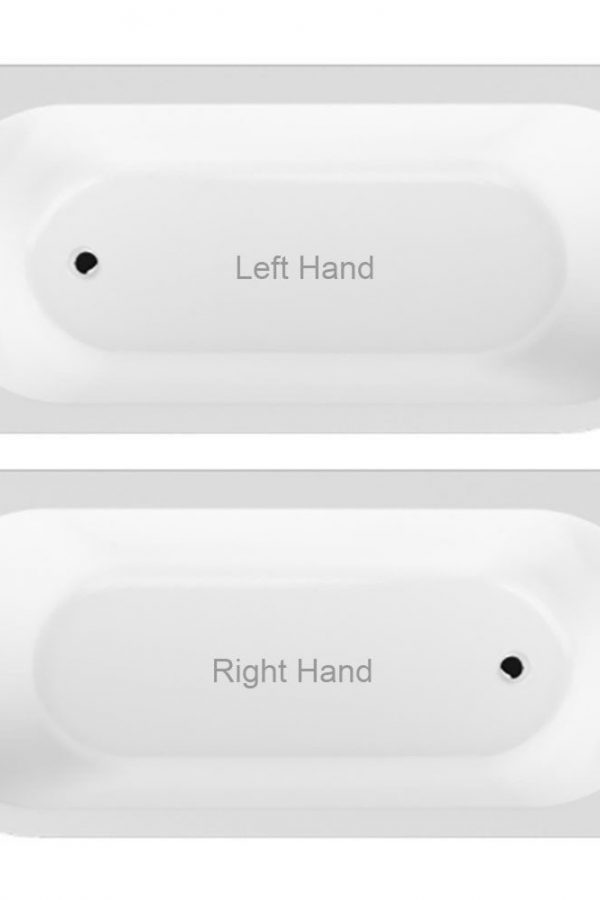 J Shaped 1700 x 750 Right Hand Bath Only