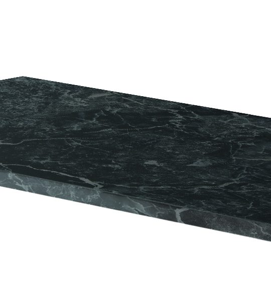 1000mm Claddagh Marble Counter Top Black Onyx