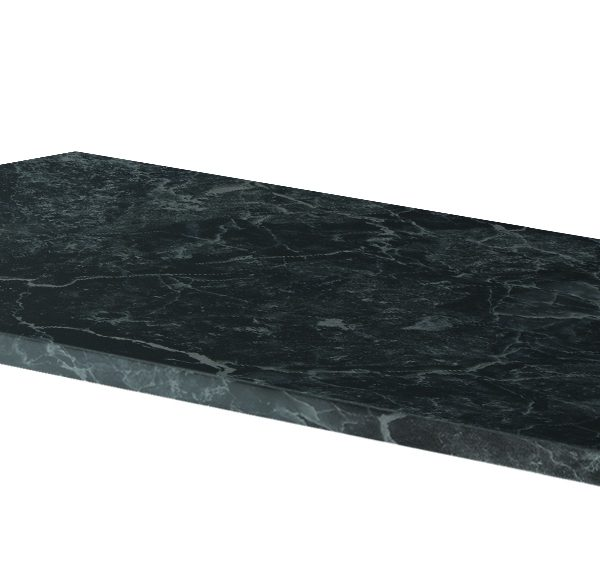 800mm Claddagh Marble Counter Top Black Onyx