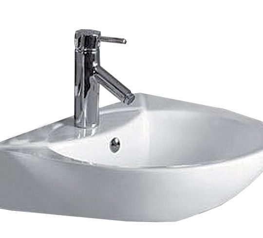 Georgia 545mm 1 Tap Hole Basin Only