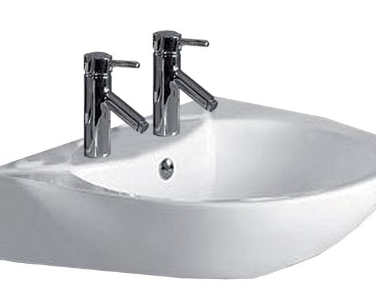Georgia 545mm 2 Tap Hole Basin Only