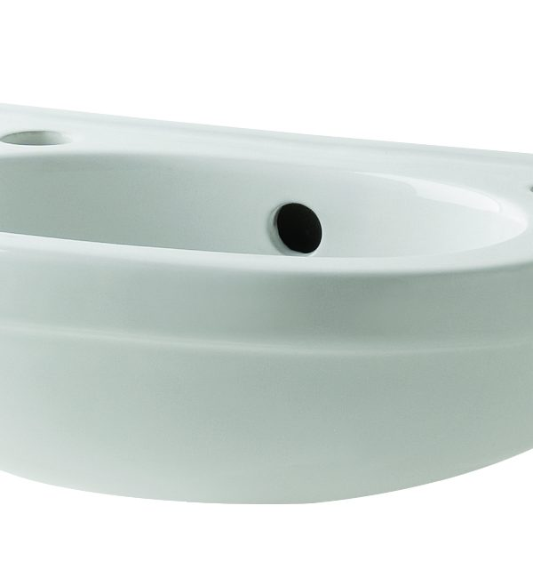 Kosmo 360mm 2 Tap Hole Basin Only