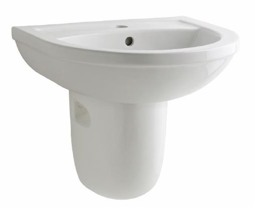 Kosmo 450mm 1 Tap Hole Basin Only