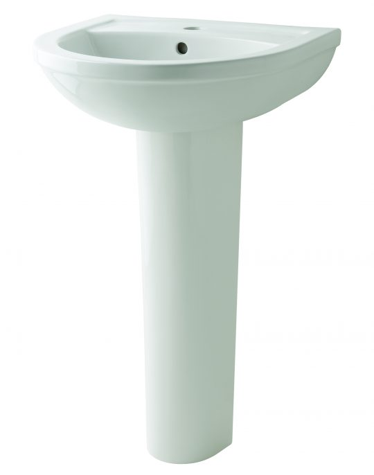 Kosmo 500mm 1 Tap Hole Basin Only