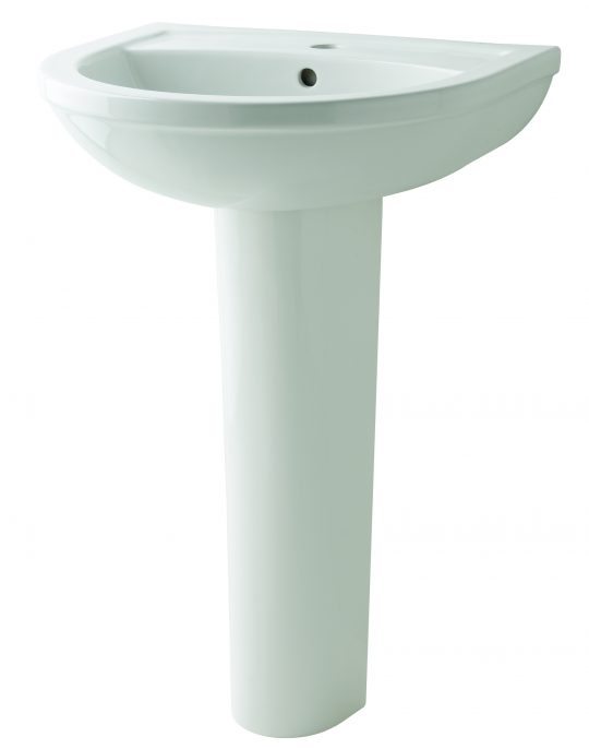 Kosmo 550mm 1Tap Hole Basin Only