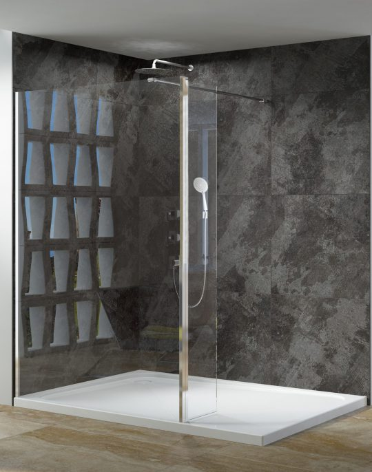 Casanuova Wet Room T-Piece For End Panel