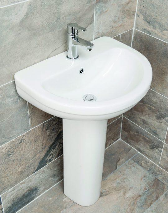 Odette 550mm 1TH Basin Only