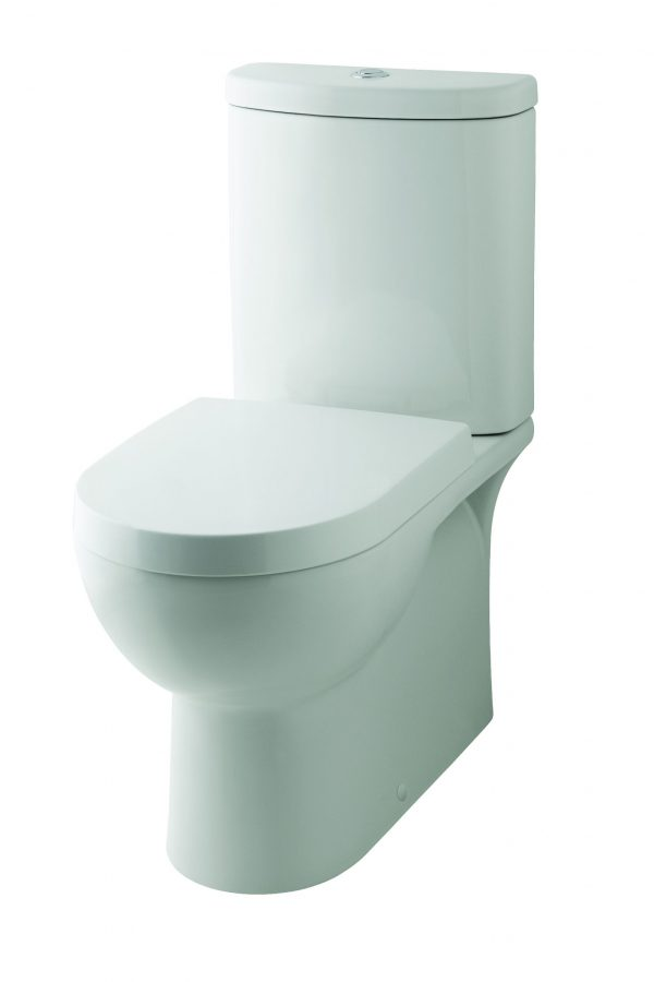 Odette Close Coupled Pan Only with Seat and Cover