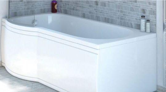 1675 Compact Shower Bath  Left Hand Bath Only