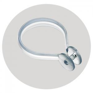 Shower Curtain Rings X 12 – Chrome