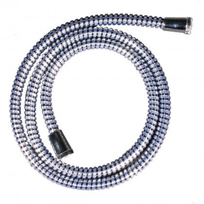 1.5m Reinforced PVC Shower Hose – White