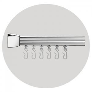 Angled Rail – Silver