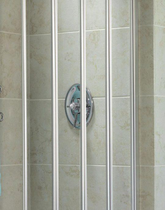 4 Part Bath Screen – Silver