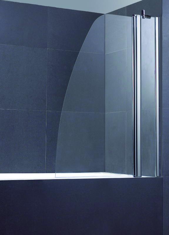 Sail Bath Screen – Silver