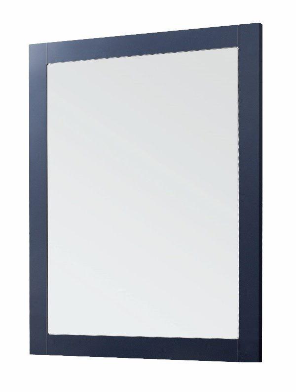 600mm Framed Mirror – Matt Sapphire Blue (Unit Only)