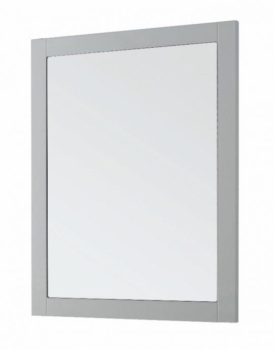 600mm Framed Mirror – Matt Dove Grey (Unit Only)