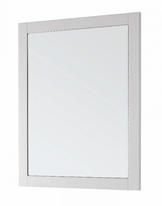 600mm Framed Mirror – Matt White (Unit Only)