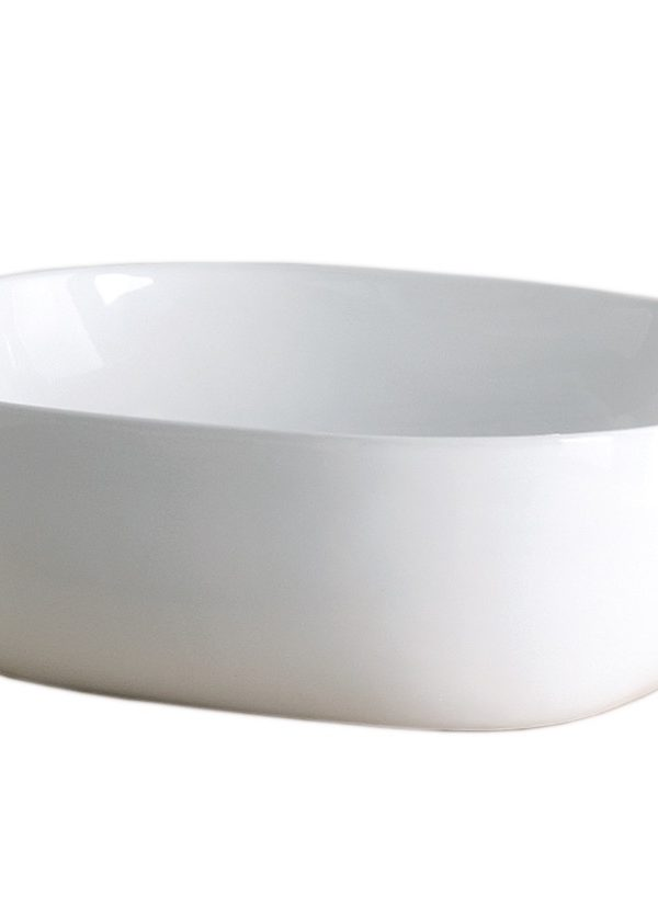 Vessel 425mm ESTANTE Soft Square round basin