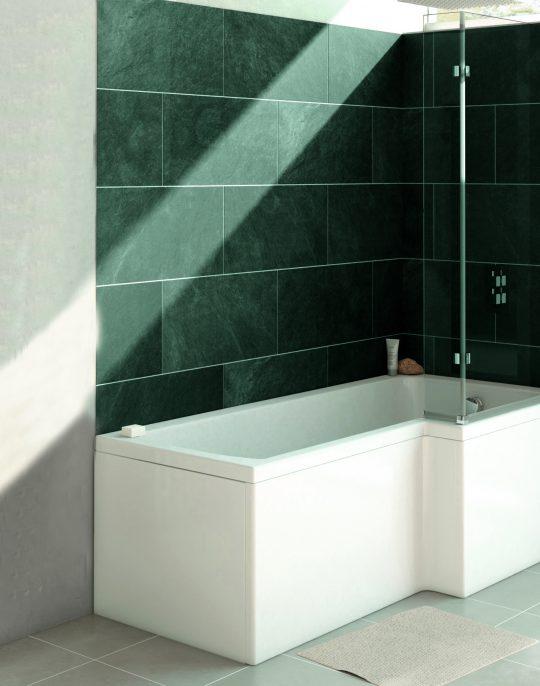 Eko L-Shaped 1700mm Left Hand Bath
