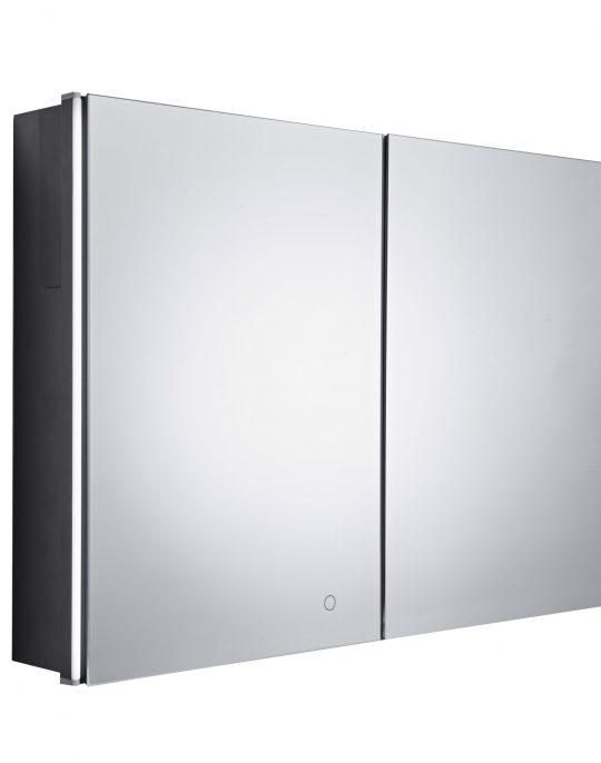 FACADE 1000mm Double Door Mirror Cabinet