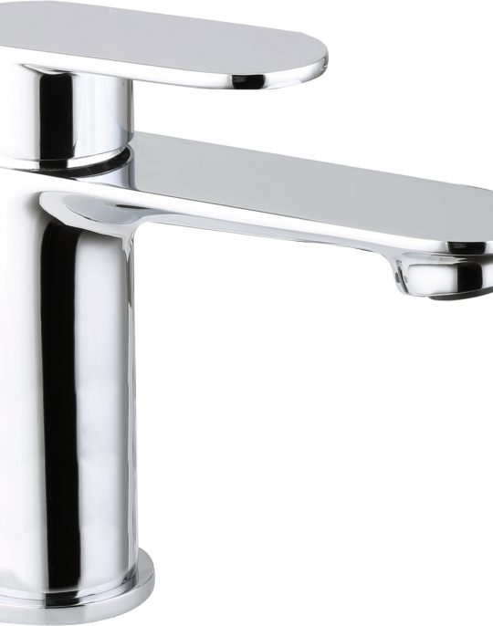 Arch Mono  Basin  Mixer  With  Push Button Waste