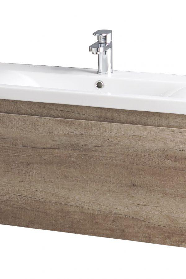 800mm Wall Hung Unit Only – Barelino Oak