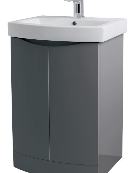 500mm Floor Standing – Gloss Grey (Unit Only)