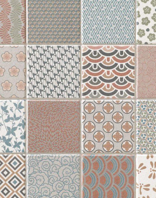 Kimono Pattern Tile