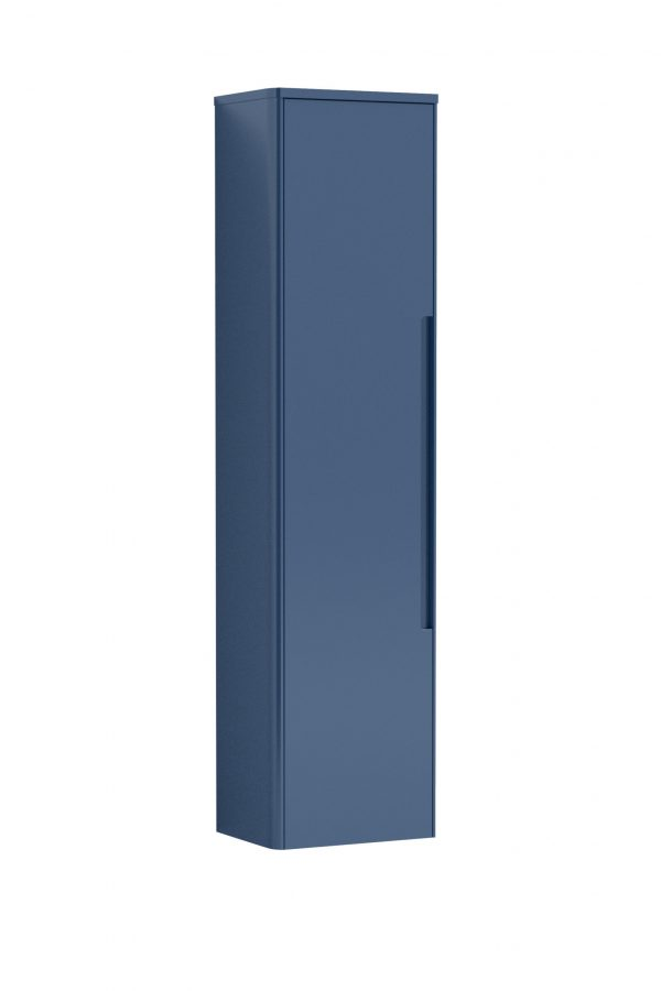 Lotti Tall Wall Hung Unit – Matt Blue