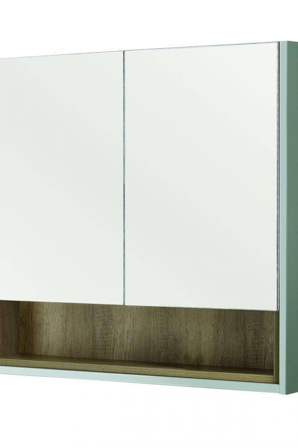 800mm Mirror Cabinet – Matt Dove Grey (Unit Only)