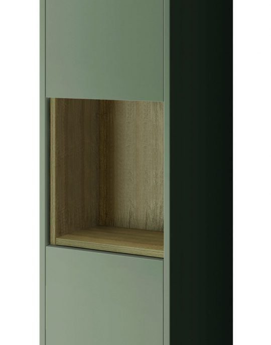 1400mm  Tall Boy – Gloss Taupe (Unit Only)