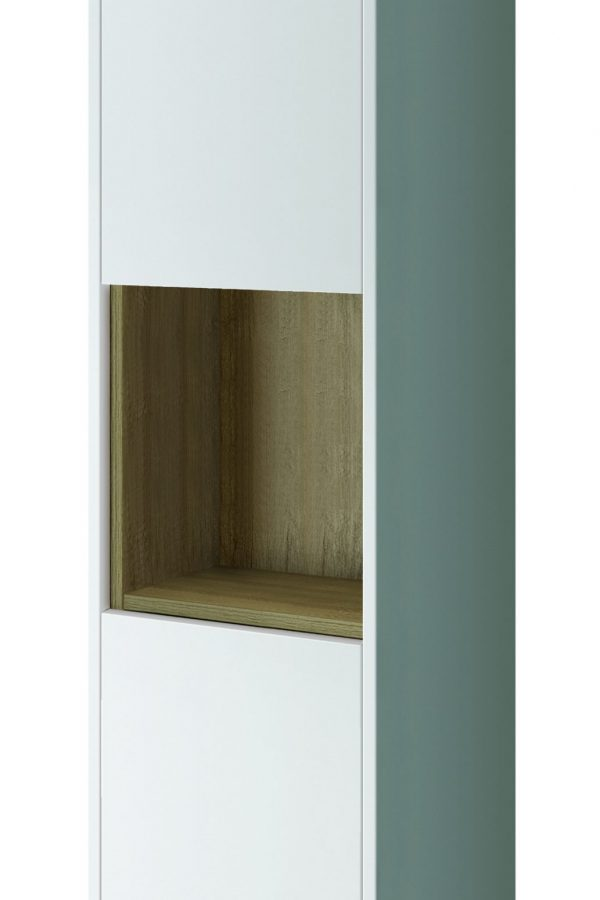 1400mm  Tall Boy – Gloss White (Unit Only)