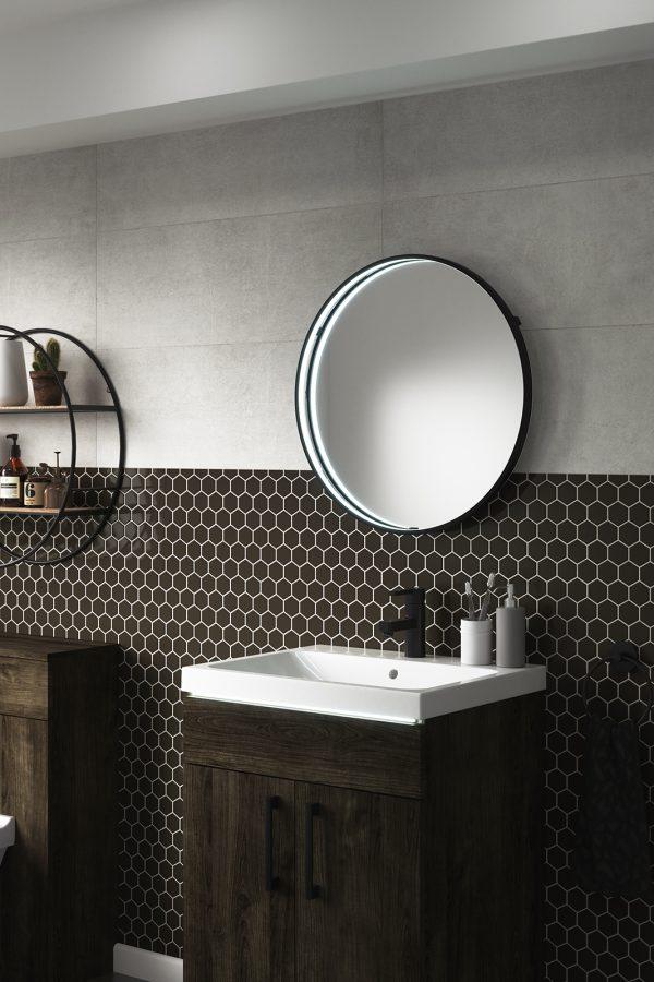 Aspect Round Mirror