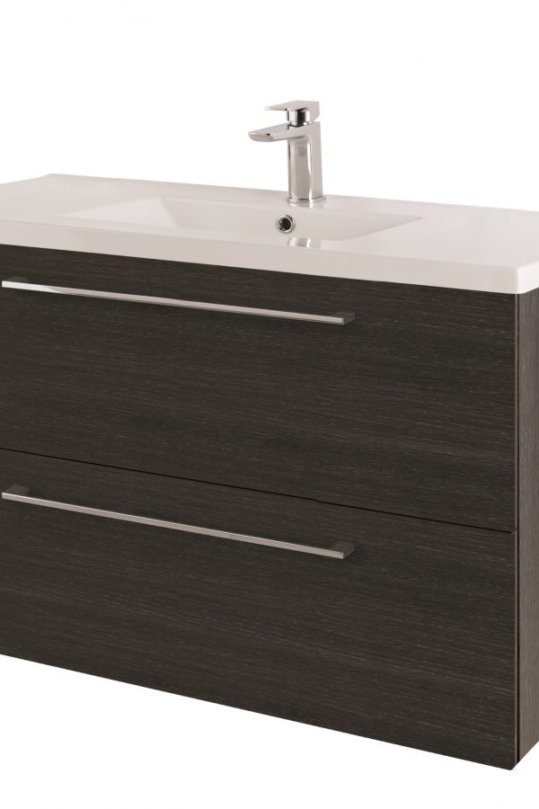 1000mm Wall Hung – Shadow Black (Unit Only)