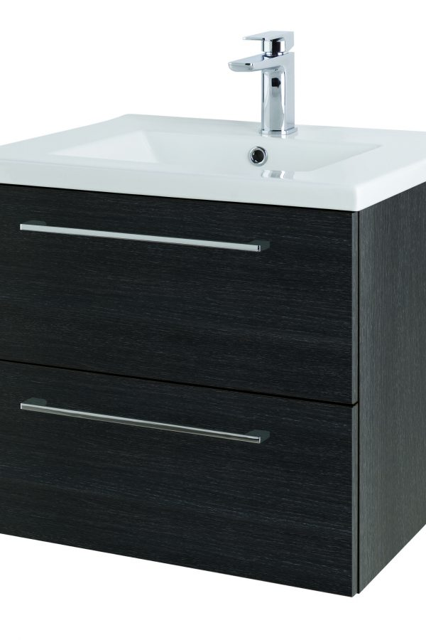 600mm Wall Hung – Shadow Black (Unit Only)